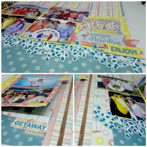 A Class by Kerrie Gurney - Escape to Paradise Double Page Layout  [3]